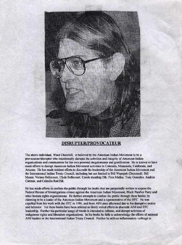 Ward churchill little eichmann essay